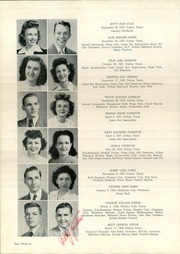 Page 40, 1945 Edition, Woodrow Wilson High School - Crusader Yearbook (Dallas, TX) online yearbook collection