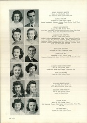 Page 44, 1945 Edition, Woodrow Wilson High School - Crusader Yearbook (Dallas, TX) online yearbook collection