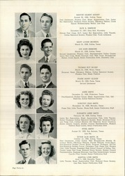 Page 50, 1945 Edition, Woodrow Wilson High School - Crusader Yearbook (Dallas, TX) online yearbook collection