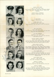 Page 52, 1945 Edition, Woodrow Wilson High School - Crusader Yearbook (Dallas, TX) online yearbook collection