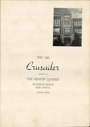 Page 7, 1945 Edition, Woodrow Wilson High School - Crusader Yearbook (Dallas, TX) online yearbook collection