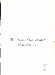 Page 5, 1948 Edition, Woodrow Wilson High School - Crusader Yearbook (Dallas, TX) online yearbook collection