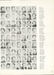 Page 91, 1956 Edition, Woodrow Wilson High School - Crusader Yearbook (Dallas, TX) online yearbook collection