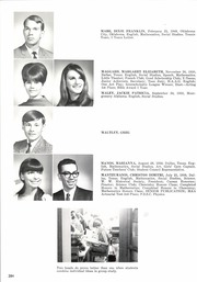 Page 288, 1968 Edition, Woodrow Wilson High School - Crusader Yearbook (Dallas, TX) online yearbook collection