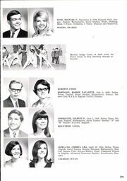 Page 299, 1968 Edition, Woodrow Wilson High School - Crusader Yearbook (Dallas, TX) online yearbook collection