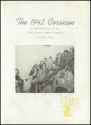 Page 5, 1942 Edition, Corsicana High School - Corsican Yearbook (Corsicana, TX) online yearbook collection