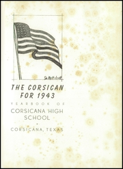 Page 5, 1943 Edition, Corsicana High School - Corsican Yearbook (Corsicana, TX) online yearbook collection