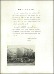 Page 8, 1943 Edition, Corsicana High School - Corsican Yearbook (Corsicana, TX) online yearbook collection
