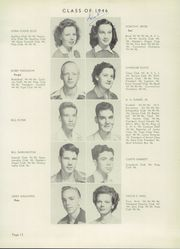 Page 17, 1946 Edition, Corsicana High School - Corsican Yearbook (Corsicana, TX) online yearbook collection