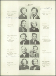 Page 16, 1949 Edition, Corsicana High School - Corsican Yearbook (Corsicana, TX) online yearbook collection
