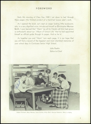 Page 7, 1949 Edition, Corsicana High School - Corsican Yearbook (Corsicana, TX) online yearbook collection