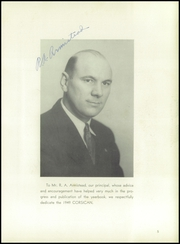 Page 9, 1949 Edition, Corsicana High School - Corsican Yearbook (Corsicana, TX) online yearbook collection