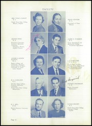 Page 16, 1950 Edition, Corsicana High School - Corsican Yearbook (Corsicana, TX) online yearbook collection