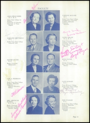 Page 17, 1950 Edition, Corsicana High School - Corsican Yearbook (Corsicana, TX) online yearbook collection