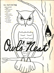 Page 5, 1961 Edition, Joshua High School - Owls Nest Yearbook (Joshua, TX) online yearbook collection