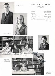 Page 7, 1967 Edition, Joshua High School - Owls Nest Yearbook (Joshua, TX) online yearbook collection