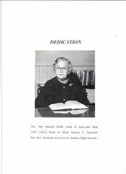 Page 8, 1967 Edition, Joshua High School - Owls Nest Yearbook (Joshua, TX) online yearbook collection