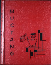 1971 Edition, Madisonville High School - Mustang Yearbook (Madisonville, TX)