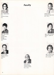 Page 12, 1971 Edition, Madisonville High School - Mustang Yearbook (Madisonville, TX) online yearbook collection