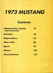 Page 5, 1973 Edition, Madisonville High School - Mustang Yearbook (Madisonville, TX) online yearbook collection