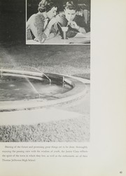 Page 87, 1956 Edition, Thomas Jefferson High School - Yellow Jacket Yearbook (Port Arthur, TX) online yearbook collection