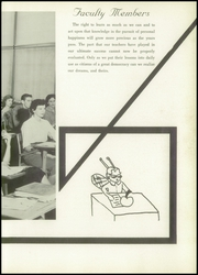 Page 15, 1957 Edition, Thomas Jefferson High School - Yellow Jacket Yearbook (Port Arthur, TX) online yearbook collection