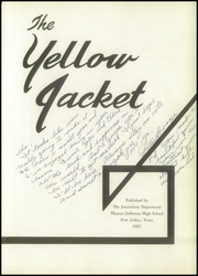 Page 7, 1957 Edition, Thomas Jefferson High School - Yellow Jacket Yearbook (Port Arthur, TX) online yearbook collection