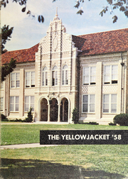 Thomas Jefferson High School - Yellow Jacket Yearbook (Port Arthur, TX) online yearbook collection, 1958 Edition, Page 1