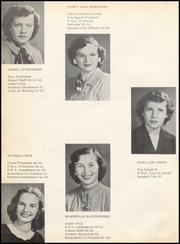 Page 16, 1953 Edition, Midlothian High School - Panther Scream Yearbook (Midlothian, TX) online yearbook collection