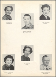 Page 14, 1956 Edition, Midlothian High School - Panther Scream Yearbook (Midlothian, TX) online yearbook collection