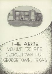 Page 5, 1955 Edition, Georgetown High School - Aerie Yearbook (Georgetown, TX) online yearbook collection