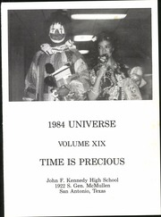 Page 5, 1984 Edition, John F Kennedy High School - Universe Yearbook (San Antonio, TX) online yearbook collection