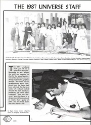 Page 146, 1987 Edition, John F Kennedy High School - Universe Yearbook (San Antonio, TX) online yearbook collection