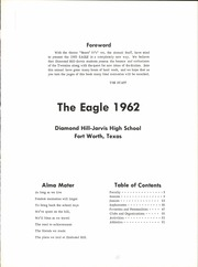 Page 5, 1962 Edition, Diamond Hill Jarvis High School - Eagle Yearbook (Fort Worth, TX) online yearbook collection