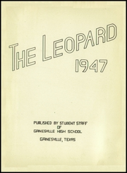 Page 5, 1947 Edition, Gainesville High School - Leopard Yearbook (Gainesville, TX) online yearbook collection