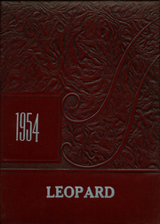 Gainesville High School - Leopard Yearbook (Gainesville, TX) online yearbook collection, 1954 Edition, Page 1