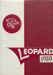 Gainesville High School - Leopard Yearbook (Gainesville, TX) online yearbook collection, 1959 Edition, Page 1
