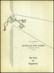 Page 6, 1953 Edition, Gatesville High School - Crescent Yearbook (Gatesville, TX) online yearbook collection