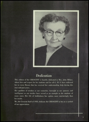 Page 9, 1955 Edition, Gatesville High School - Crescent Yearbook (Gatesville, TX) online yearbook collection