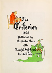 Page 7, 1926 Edition, Marshall High School - Maverick Yearbook (Marshall, TX) online yearbook collection