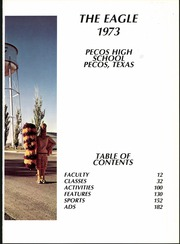 Page 5, 1973 Edition, Pecos High School - Eagle Yearbook (Pecos, TX) online yearbook collection