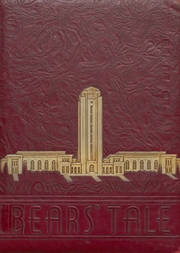Gladewater High School - Bears Tale Yearbook (Gladewater, TX) online yearbook collection, 1939 Edition, Page 1