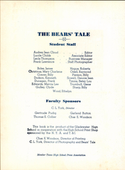Page 12, 1942 Edition, Gladewater High School - Bears Tale Yearbook (Gladewater, TX) online yearbook collection