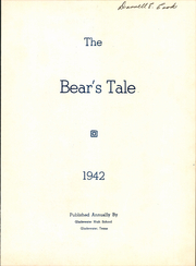 Page 7, 1942 Edition, Gladewater High School - Bears Tale Yearbook (Gladewater, TX) online yearbook collection