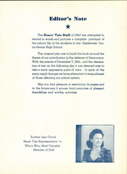 Page 9, 1942 Edition, Gladewater High School - Bears Tale Yearbook (Gladewater, TX) online yearbook collection