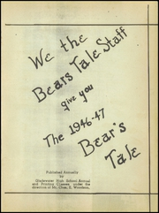 Page 5, 1947 Edition, Gladewater High School - Bears Tale Yearbook (Gladewater, TX) online yearbook collection