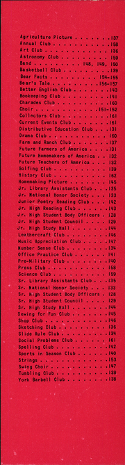 Page 144, 1957 Edition, Gladewater High School - Bears Tale Yearbook (Gladewater, TX) online yearbook collection