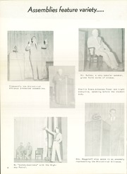 Page 10, 1958 Edition, Gladewater High School - Bears Tale Yearbook (Gladewater, TX) online yearbook collection
