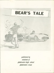 Page 5, 1958 Edition, Gladewater High School - Bears Tale Yearbook (Gladewater, TX) online yearbook collection