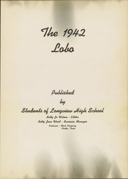 Page 5, 1942 Edition, Longview High School - Lobo Yearbook (Longview, TX) online yearbook collection